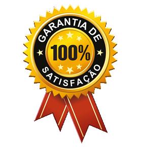 Garantia de 100% de satisfação
