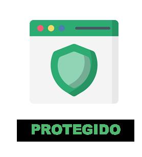 Site 100% protegido e em servidor dedicado na Europa